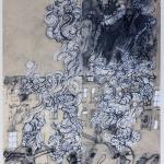 1982-Michail Bulgakov-Mistr a Markétka-lavírovaná kresba-55x41-02