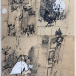 1982-Michail Bulgakov-Mistr a Markétka-lavírovaná kresba-55x41-06