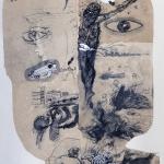 1982-Michail Bulgakov-Mistr a Markétka-lavírovaná kresba-55x41-08