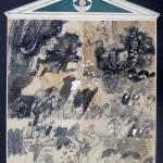 1982-Michail Bulgakov-Mistr a Markétka-lavírovaná kresba-55x41-10
