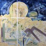 2011-Beránek Boží-olej na plátně-90x100